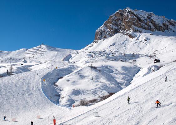 Italien Trentino Skipiste