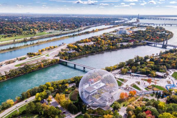 Kanada Montreal Fluss