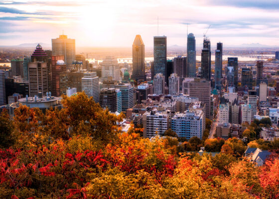 Kanada Montreal Skyline