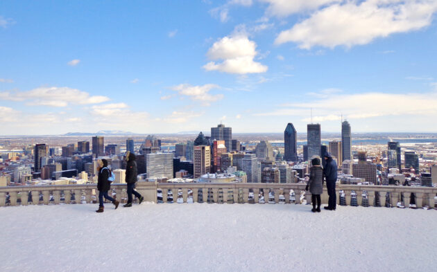 Kanada Montreal Winter