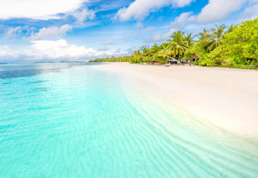 Luxusurlaub: 10 Tage Malediven im TOP 5* Hotel mit All Inclusive, Flug, Transfer & Zug für...