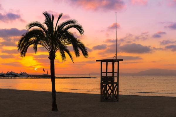 Mallorca El Arenal Strand