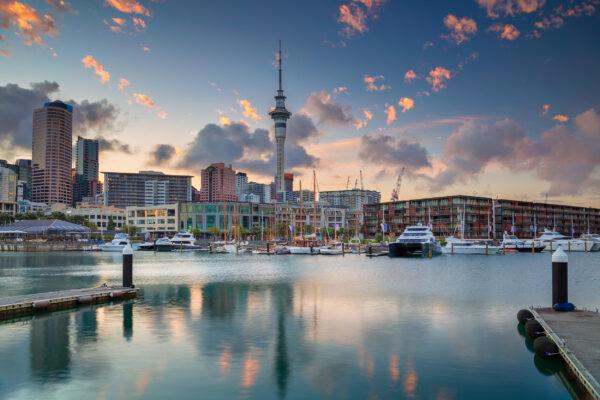 Neuseeland Auckland Skyline