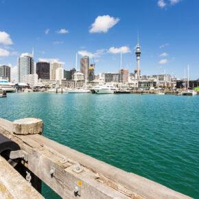 Neuseeland Auckland Viaduct Harbour