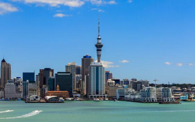 Neuseeland Auckland Wolkenkratzer