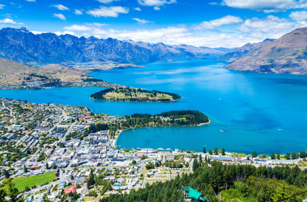 Neuseeland Queenstown oben