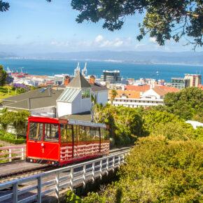 Neuseeland Wellington Cable Car