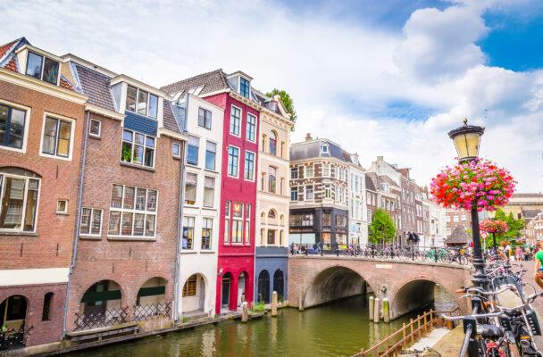 Niederlande Utrecht Gracht