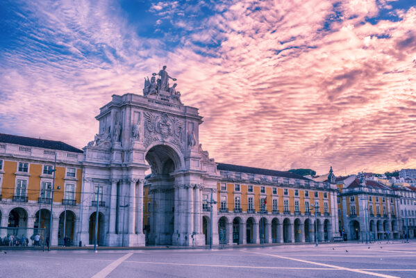 Portugal Lissabon Arco Triunfal
