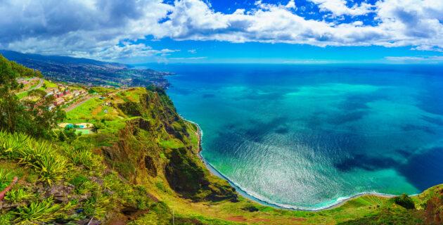 Portugal Madeira Klippen
