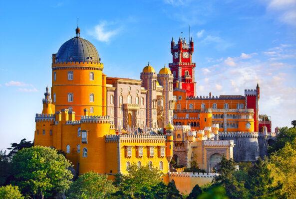 Portugal Sintra Palast