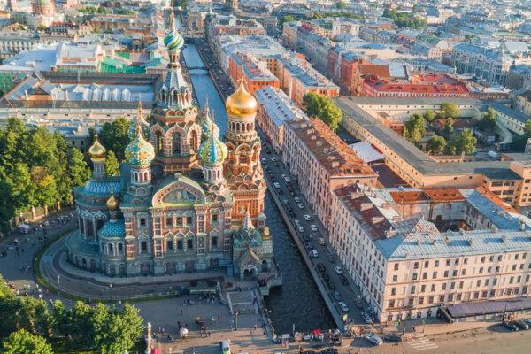 Russland Saint Petersburg Blutskirche