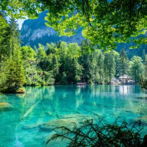Idylle pur am Wochenende: 2 Tage am Blausee in der Schweiz mit Hotel & Frühstück nur 44€