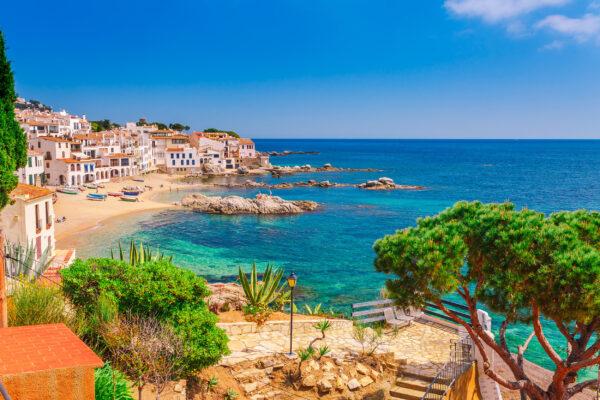 Spanien Costa Brava Calella de Palafrugell