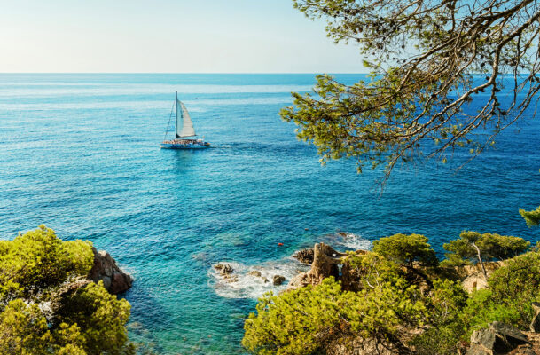 Spanien Costa Brava Lloret Meer