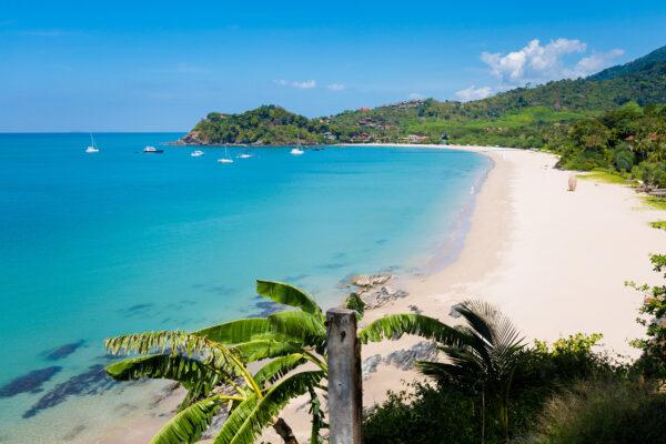 Thailand Koh Lanta oben Strand