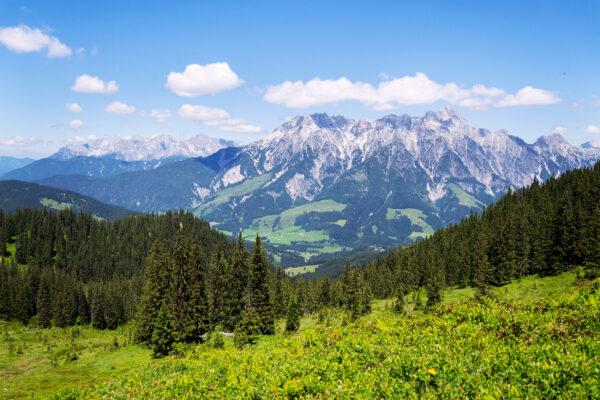 Österreich Leogang Panorama
