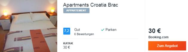 8 Tage Kroatien