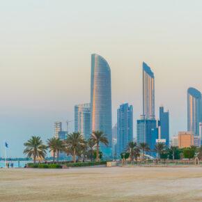 Abu Dhabi im Winter: 7 Tage im TOP 5* Burj Al Sarab mit Flug, Transfer & Zug nur 280€