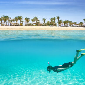 Single-Deal: 7 Tage Ägypten im TOP 5* Hotel mit All Inclusive, Flug & Transfer nur 376€