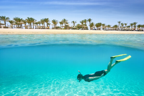 Ägypten Marsa Alam Taucher