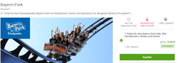 Bayern Park Gutschein