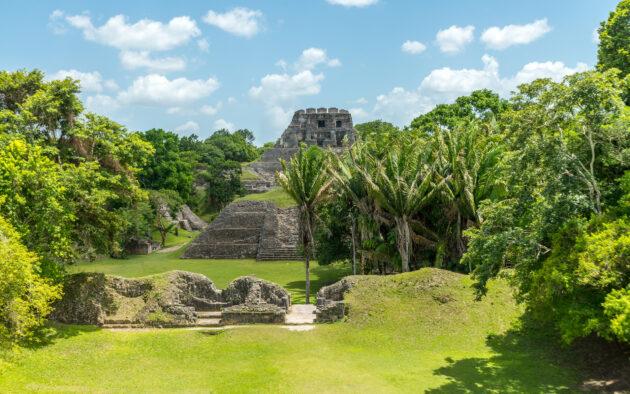 Belize Xunantunich Maya-Ruinen