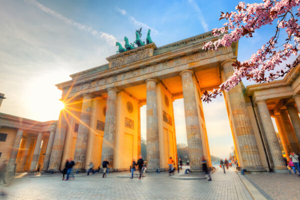 Berlin Brandenburger Tor Frühling