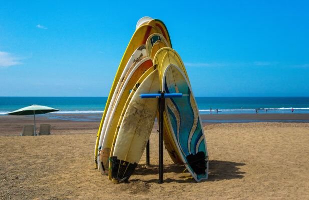 Costa Rica Jaco Beach Surfbrett