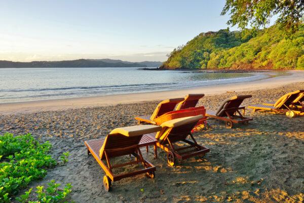 Costa Rica Peninsula Playa Blanca Beach