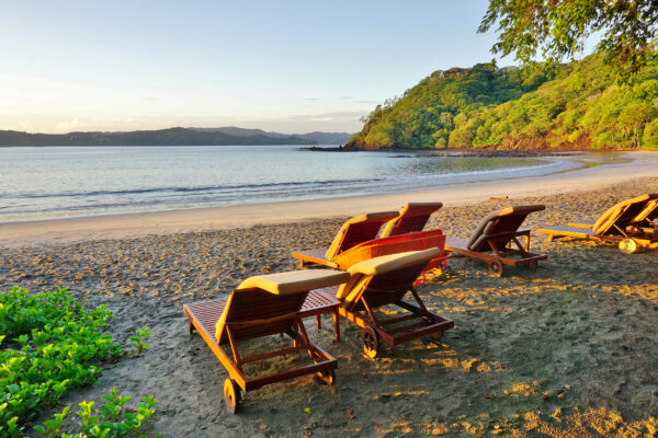 Costa Rica Peninsula Playa Blanca Beach