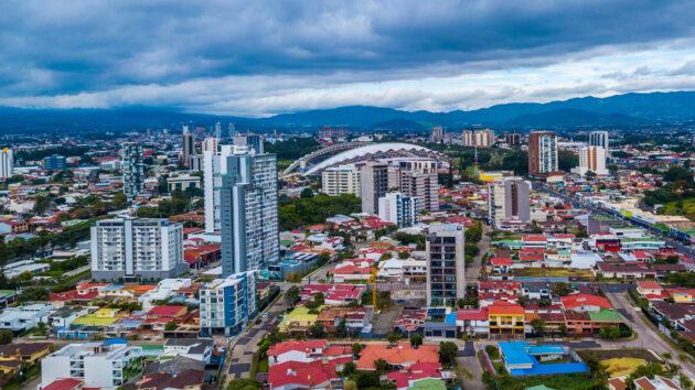 Costa Rica San Jose oben