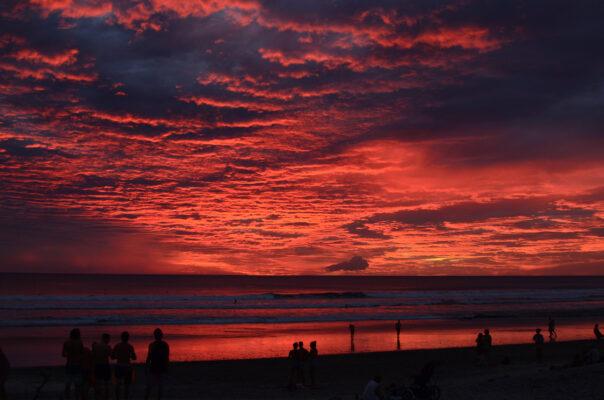 Costa Rica Santa Teresa Sonnenuntergang