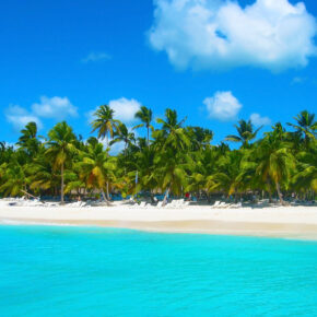 Karibik: 14 Tage Dom Rep im TOP 5* Hotel mit All Inclusive, Flug, Transfer & Zug für 1172€