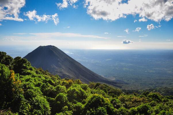 El Salvador Izalvo Vulkan