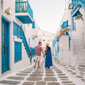 Blau & Weiß: 8 Tage Mykonos mit Unterkunft & Flug nur 204€
