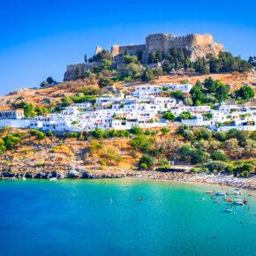 Lastminute: 7 Tage auf Rhodos im 5* Strandhotel mit All Inclusive & Flug nur 283€