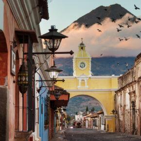 Guatemala Antigua Stadt