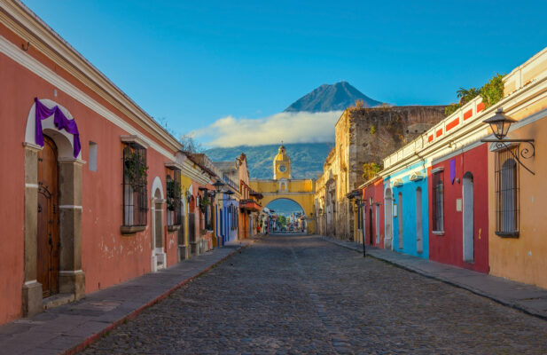 Guatemala Antigua Gasse