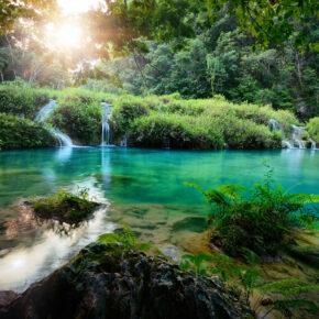 Guatemala Cascades Nationalpark Semuc Champey