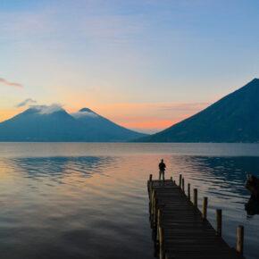Guatemala Lake Atitlan See