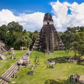 Guatemala Maya Ruine Tikal