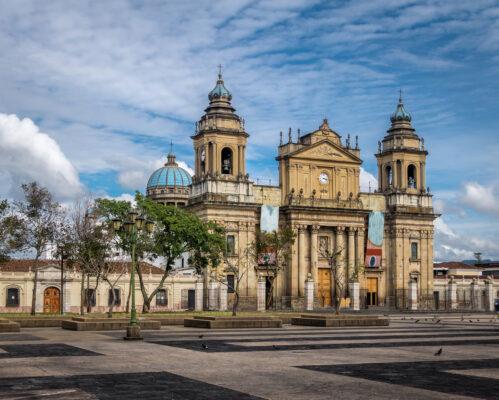 Guatemala Stadt Kathedrale