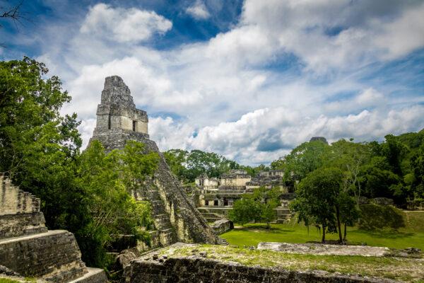 Guatemala Tikal Park Tempel