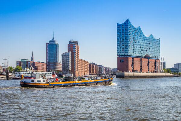 Hamburg Hafen Elbphilharmonie