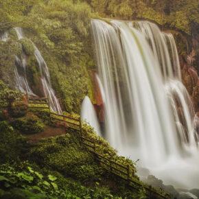 Honduras Pulhapanzak Wasserfall