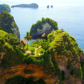 Indonesien Bali Nusa Penida Klippen