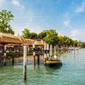 Italien Bibione Boote