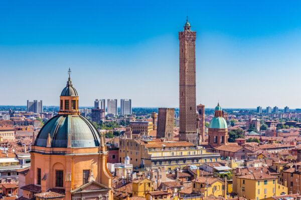 Italien Bologna Ausblick