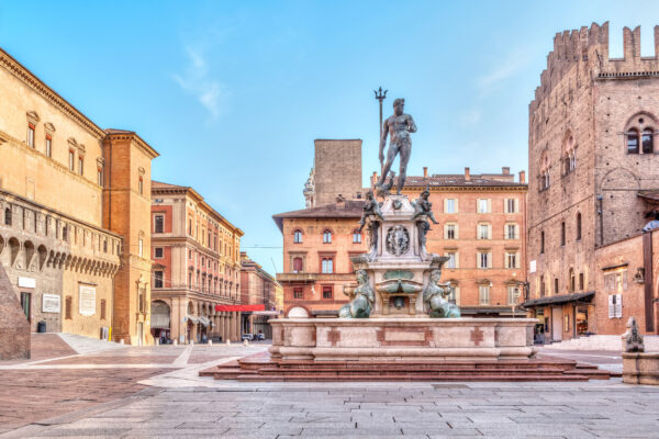 Italien Bologna Piazza del Nettuno